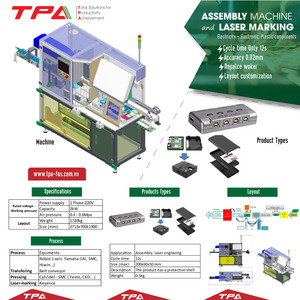 Assembly automation machine and laser marking