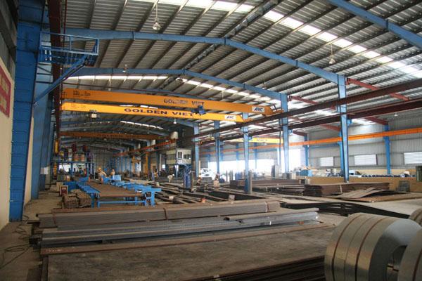 Máy cắt thép tấm - Công ty Cổ phần Việt Vàng
